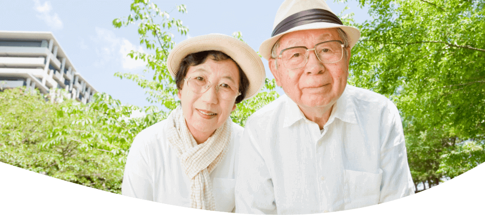 Husband and Wife in a Care Home Facility