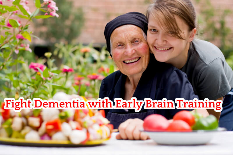 Fight Dementia with Early Brain Training